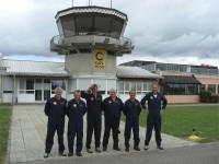 Überraschender Besuch der P3-Flyers in Straubing